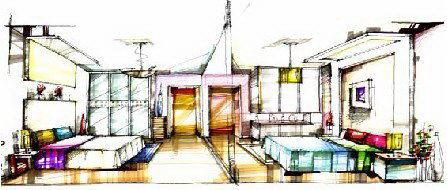 彩铅房子画法步骤图片